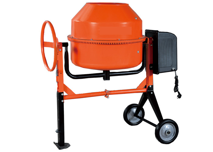 "230L Motor concrete mixer for construction 1KW 28"" small volume , high eficiency"